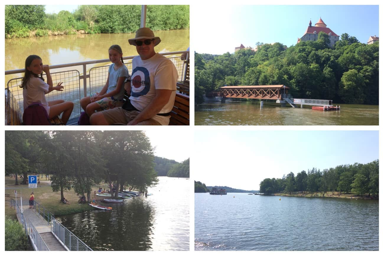 Czech Republic Brno Boat Ride Brno Reservoir