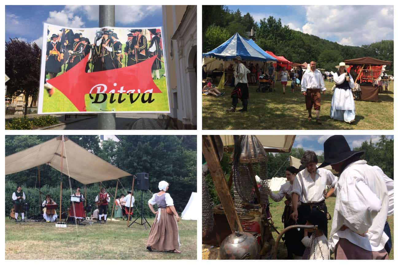 Czech Republic Veverská Bítyška Battle Reenactment
