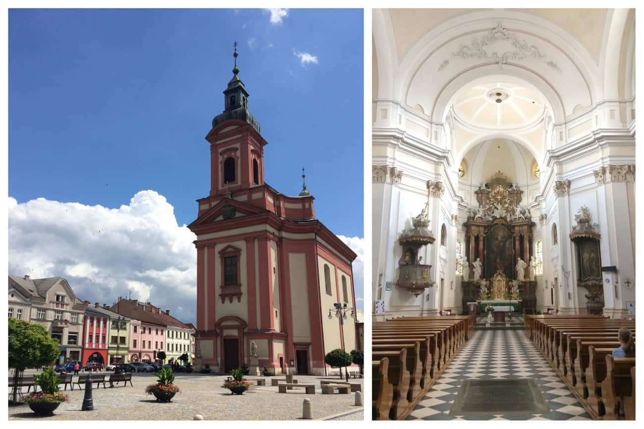 Czech Republic Hranice Church of the Beheading of St. John the Baptist