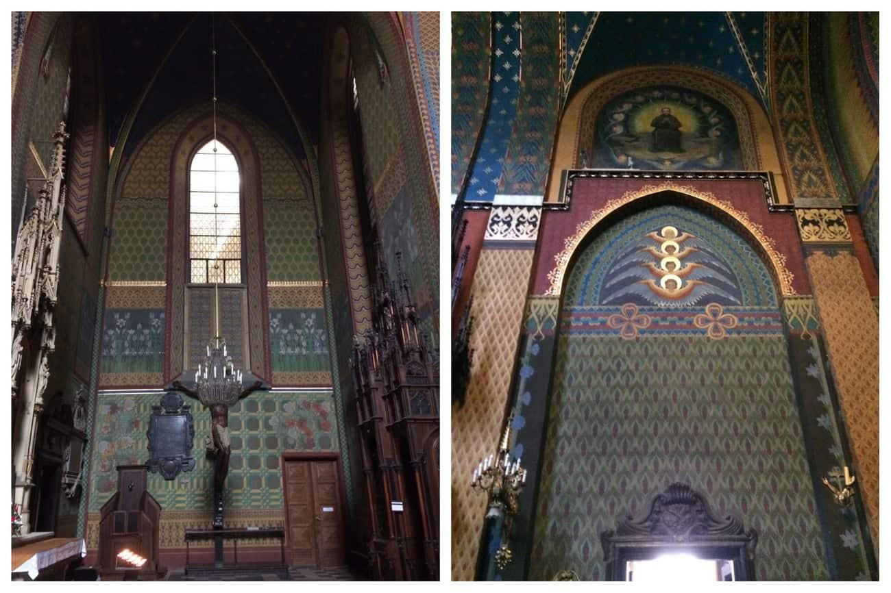 Poland Krakow Franciscan Church