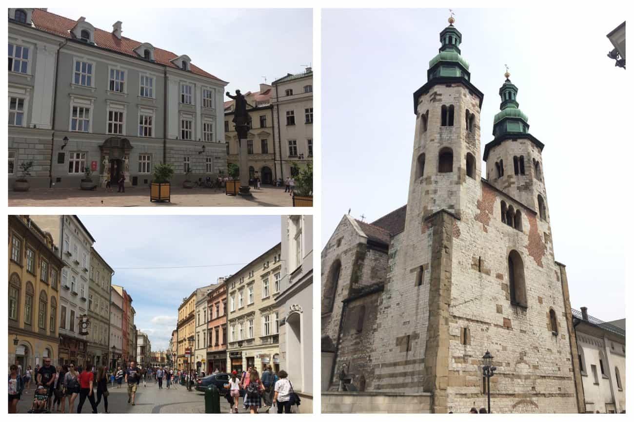 Poland Krakow Old Town architecture