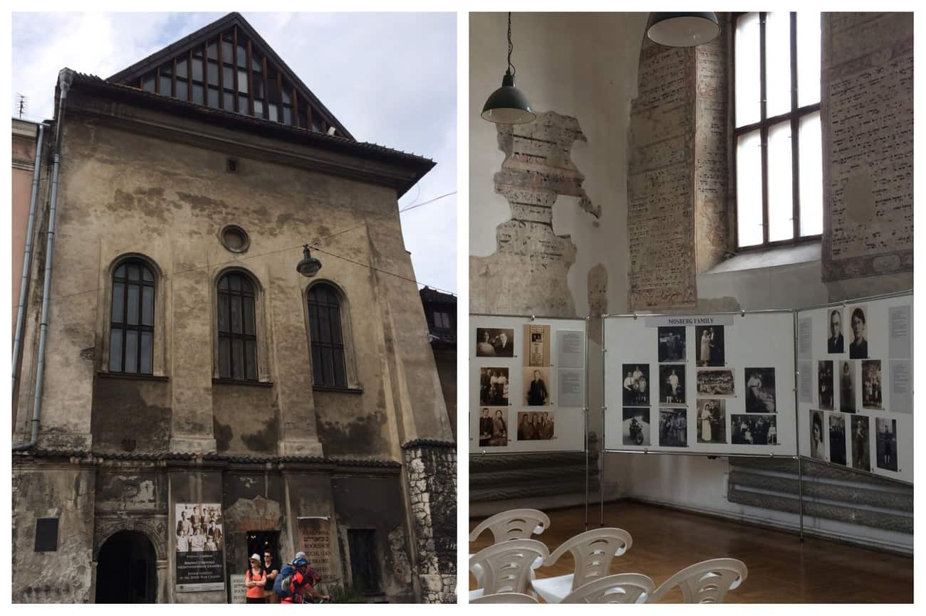 Poland Krakow Kazimierz High Synagogue and Prayer Hall