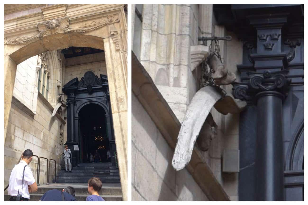 Poland Krakow Wawel Cathedral Dragon Bones