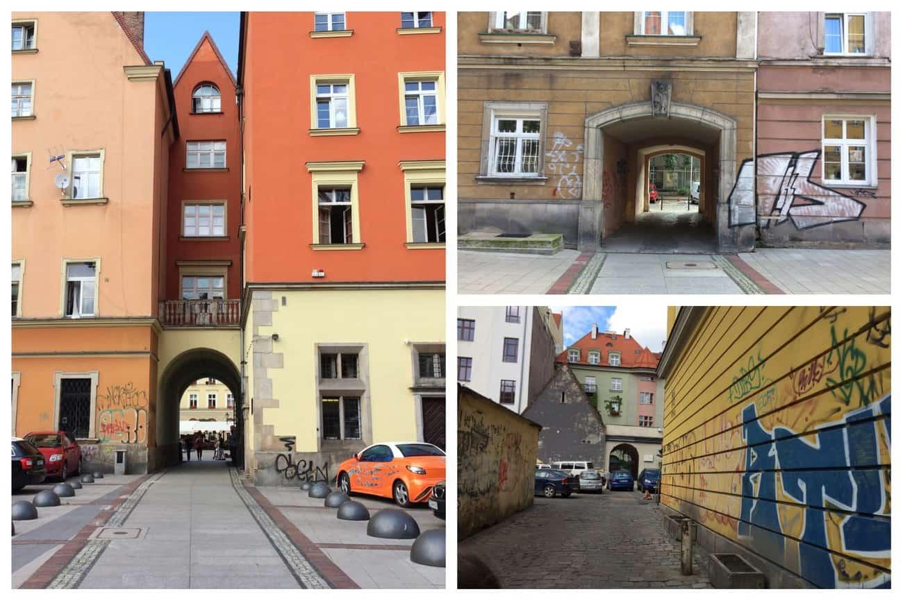 Poland Wroclaw Graffiti
