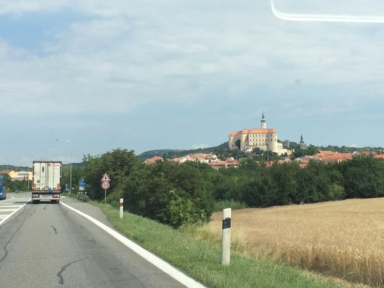 Czech Republic Romantic Mikulov Castle