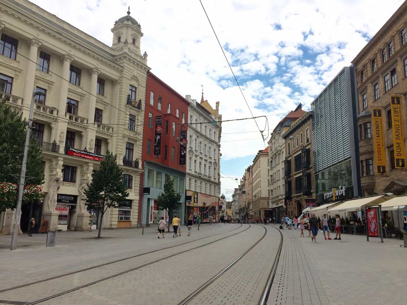 Czech Republic Brno Freedom Square Náměstí Svobody