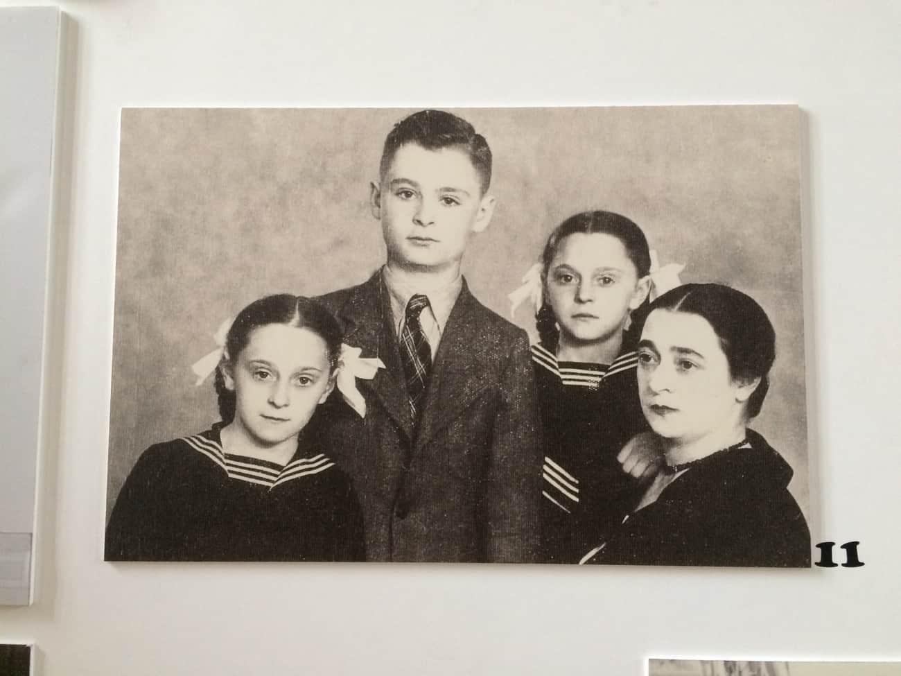 Poland Krakow Jewish History Exhibition Allerhand Family