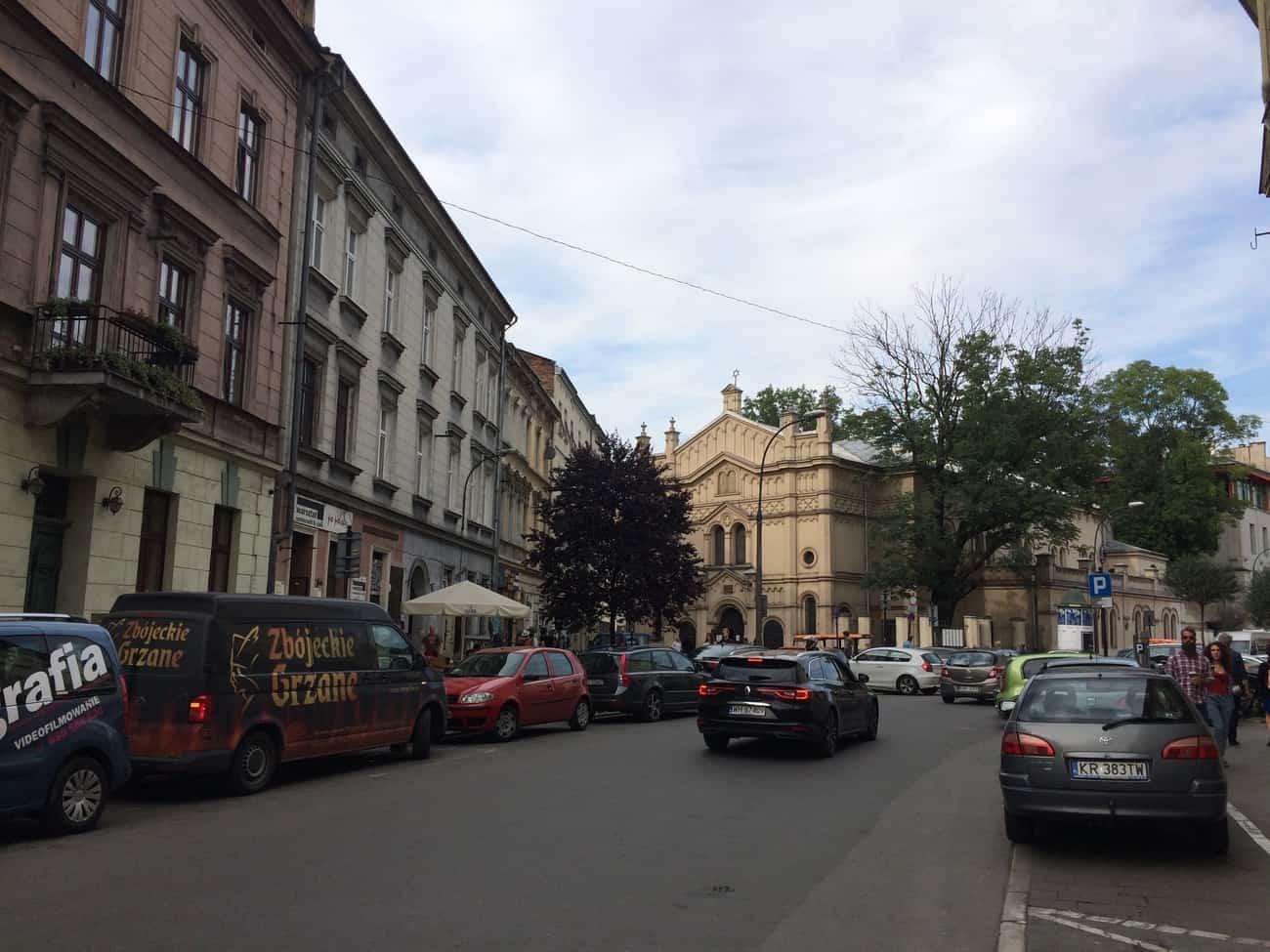 Poland Krakow Tempel Synagogue Kazimierz