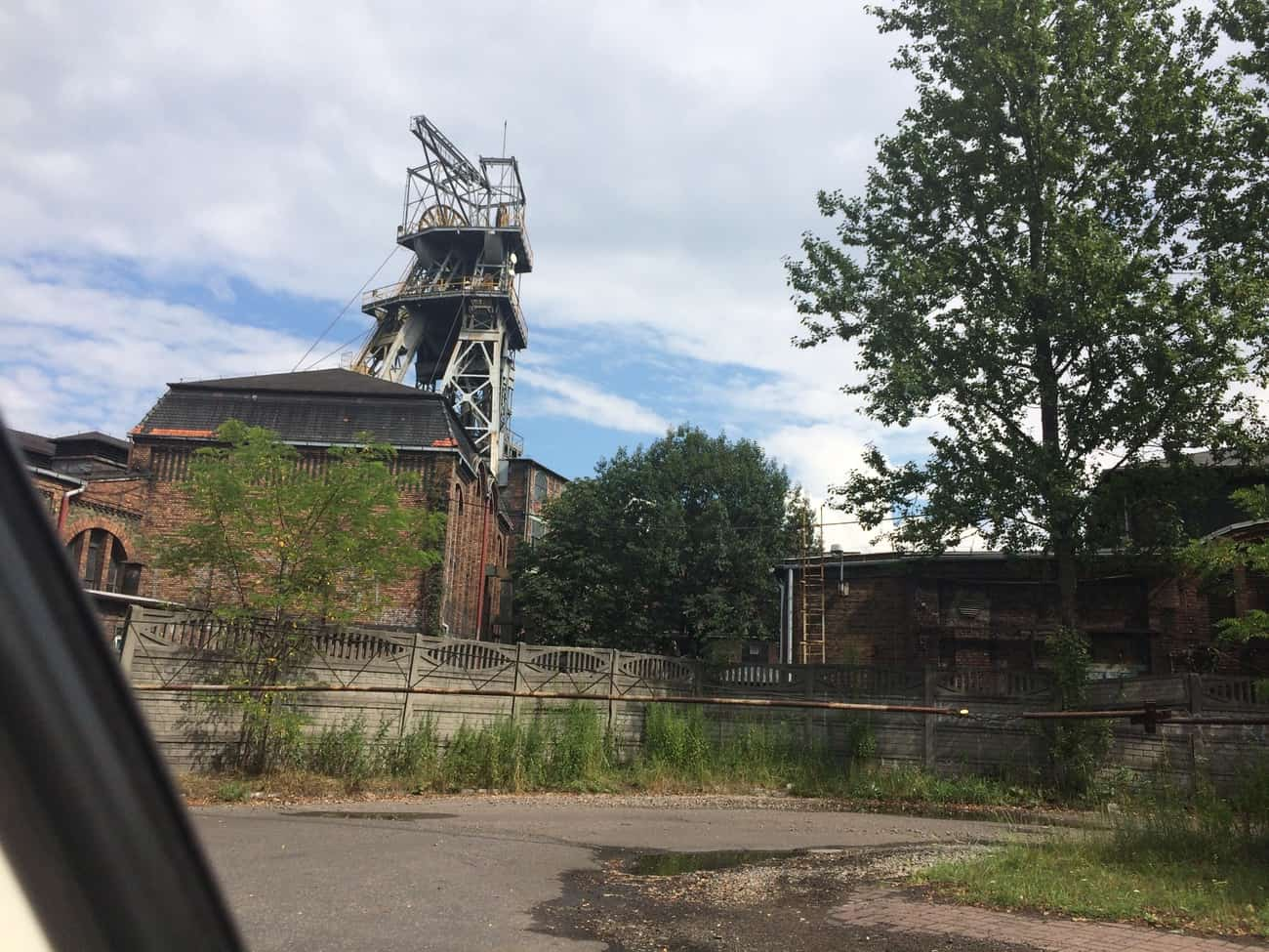 Poland Katowice Nikiszowiec Mine Working