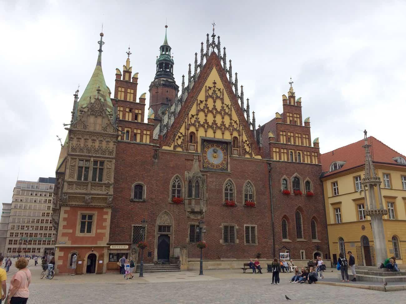 Poland Wroclaw Old Town Hall