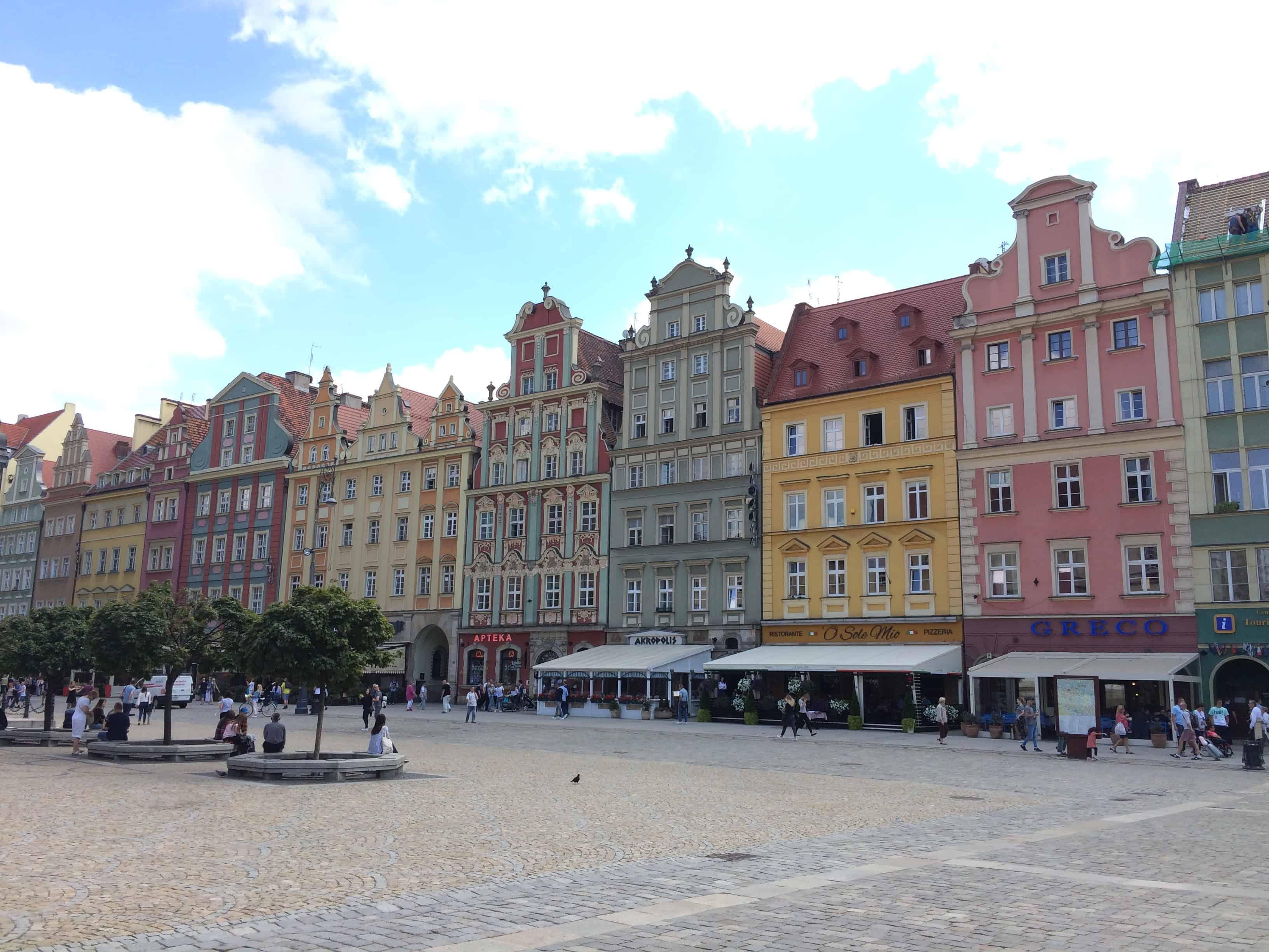 Poland Wroclaw Rynek Main Market Square